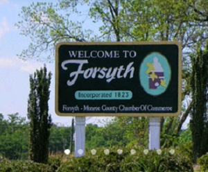 retire in City of Forsyth
